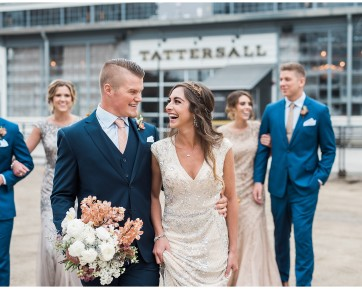 Wedding at Tattersall Distillery in Minneapolis MN by Karen Feder Photography